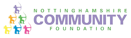 image shows the nottingham community foundation logo