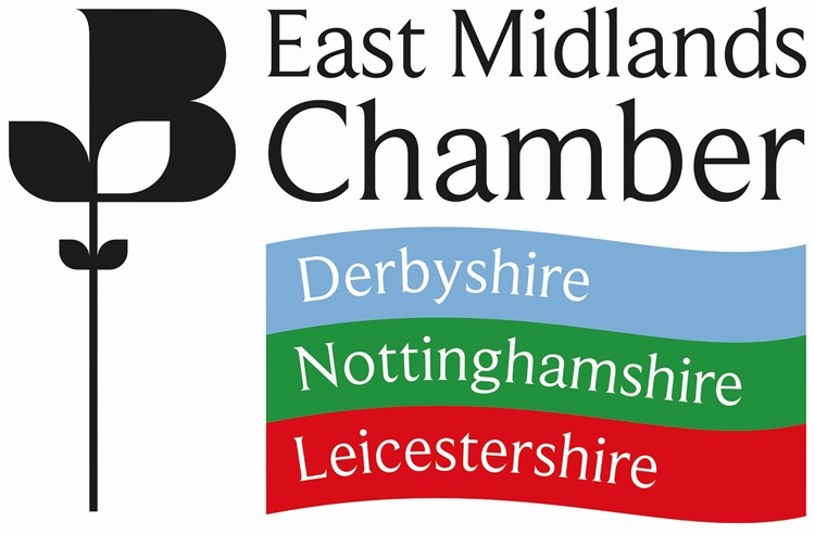 Image shows the logo of the East Midlands Chamber of Commerce