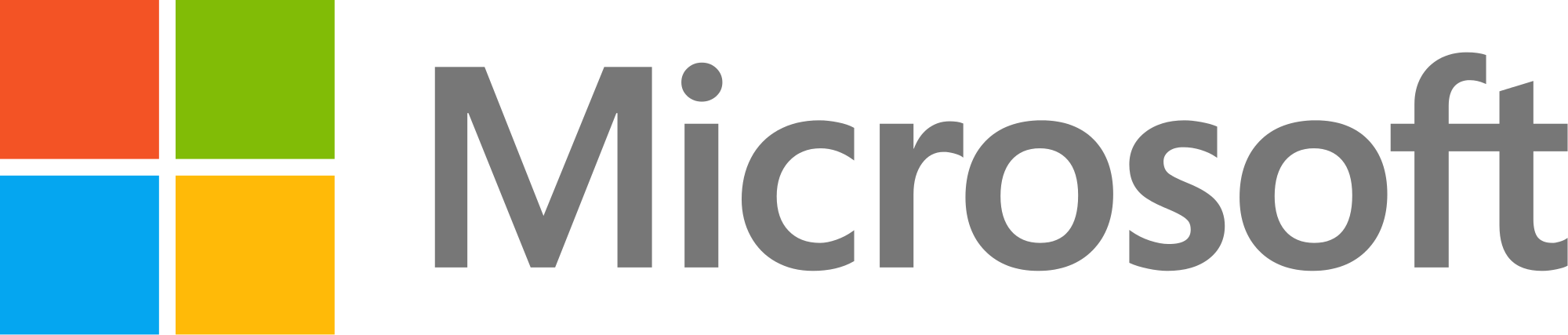 image shows the logo for microsoft
