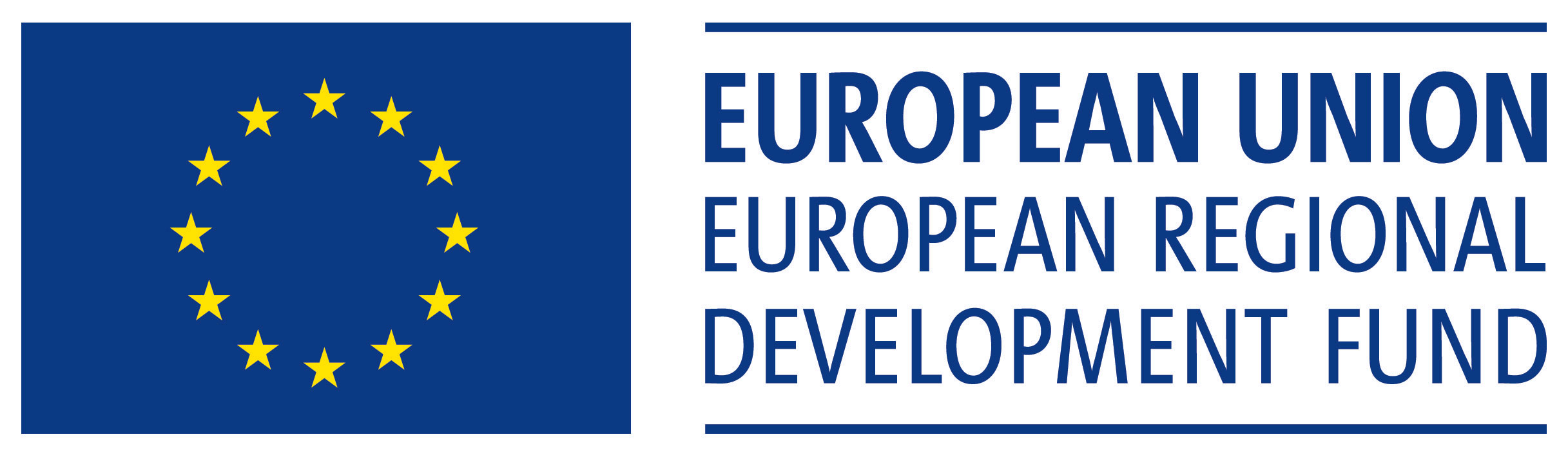 image shows logo of the european union european regional development fund
