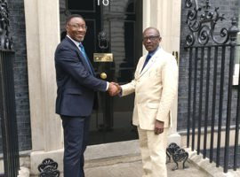 Leaders visit 10 Downing Street